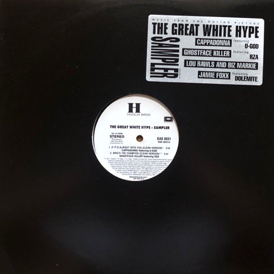 VARIOUS / THE GREAT WHITE HYPE (MUSIC FROM THE MOTION PICTURE) (US Promo Only )