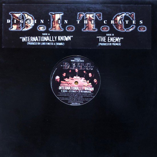 D.I.T.C. / INTERNATIONALLY KNOWN b/w THE ENEMY