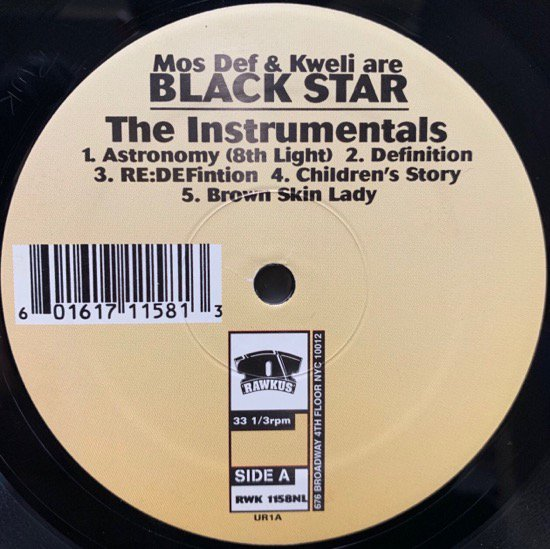 BLACK STAR / THE INSTRUMENTALS