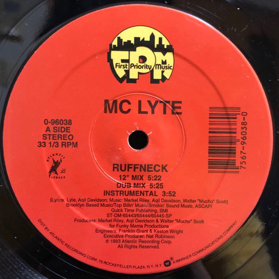 MC LYTE / RUFFNECK b/w BROOKLYN