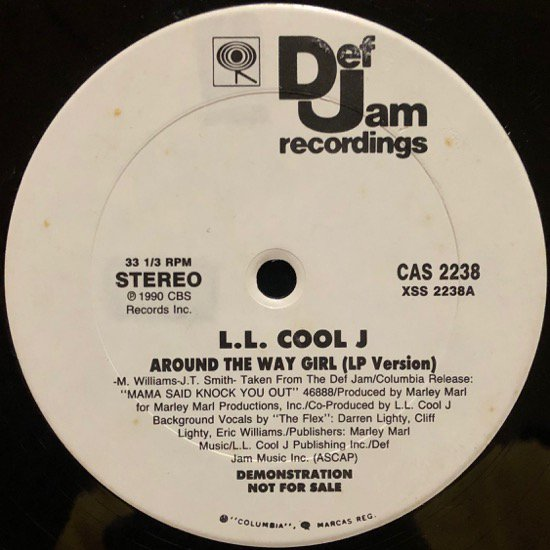 LL COOL J / AROUND THE WAY GIRL (PROMO)