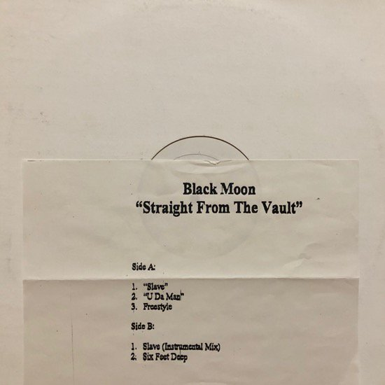 BLACK MOON / STRAIGHT FROM THE VAULT