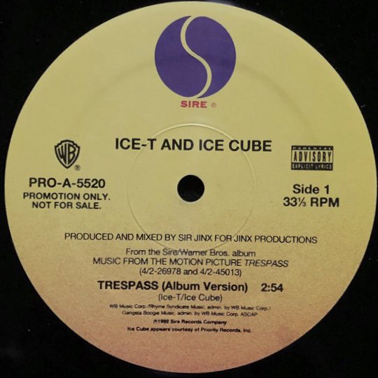 ICE-T AND ICE CUBE / TRESPASS (PROMO)