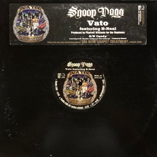 SNOOP DOGG / VATO b/w CANDY (PROMO)