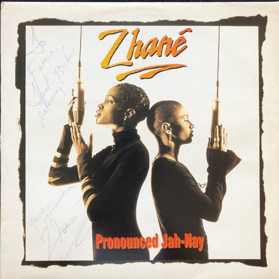 ZHANÉ / PRONOUNCED JAH-NAY