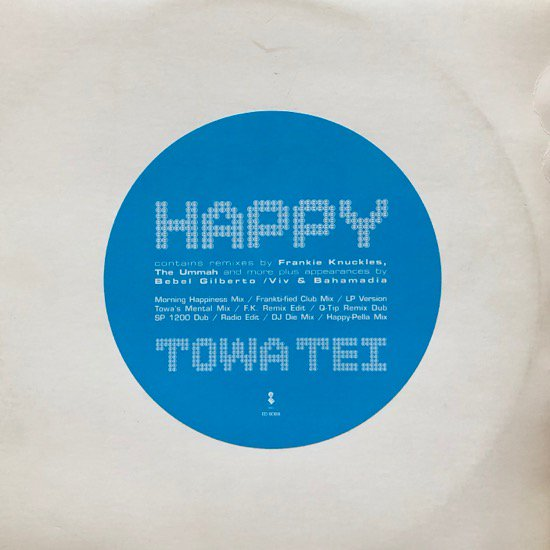 TOWA TEI / HAPPY ( US Promo Only W-PACK )
