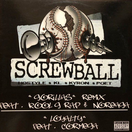 SCREWBALL / GORILLAS (REMIX)