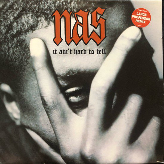 NAS / IT AIN'T HARD TO TELL ( UK Original With Jacket )