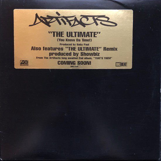 ARTIFACTS / THE ULTIMATE (PROMO)
