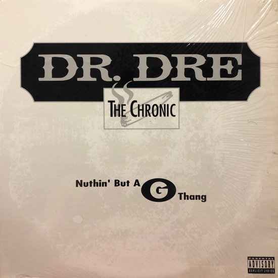 DR. DRE / NUTHIN' BUT A G THANG (93 US Original Pressing )