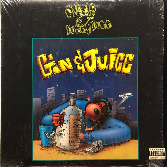 SNOOP DOGGY DOGG / GIN AND JUICE ( 1994 US Original Pressing )