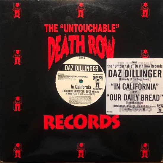 DAZ DILLINGER / IN CALIFORNIA (US ORIGINAL PROMO ONLY)