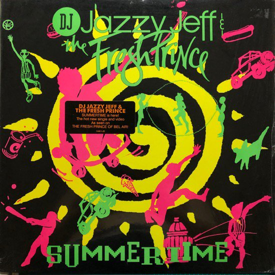 <img class='new_mark_img1' src='//img.shop-pro.jp/img/new/icons1.gif' style='border:none;display:inline;margin:0px;padding:0px;width:auto;' />DJ JAZZY JEFF & THE FRESH PRINCE  / SUMMERTIME ( 91 US Original )