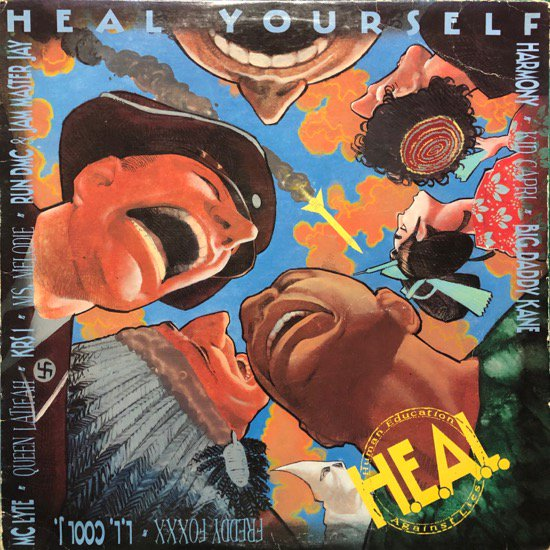 H.E.A.L. HUMAN EDUCATION AGAINST LIES  /  HEAL YOURSELF (91 US Original )