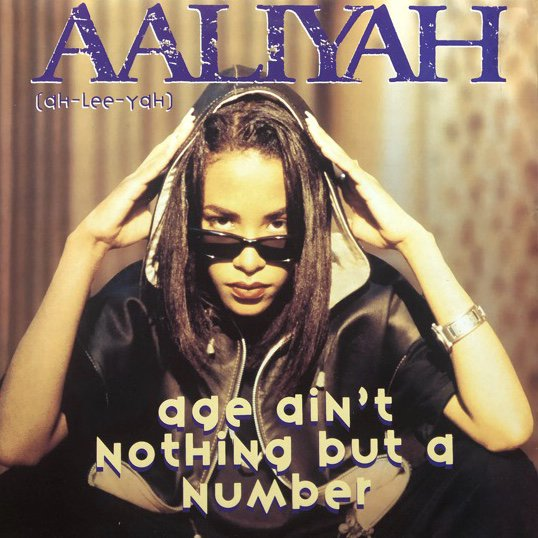 <img class='new_mark_img1' src='//img.shop-pro.jp/img/new/icons1.gif' style='border:none;display:inline;margin:0px;padding:0px;width:auto;' />AALIYAH / AGE AIN'T NOTHING BUT A NUMBER