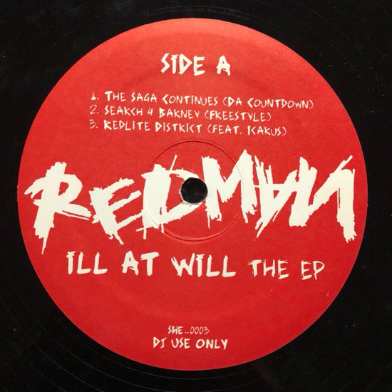 REDMAN / ILL AT WILL THE EP