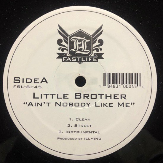 LITTLE BROTHER / AIN'T NOBODY LIKE ME b/w WELCOME TO DURHAM