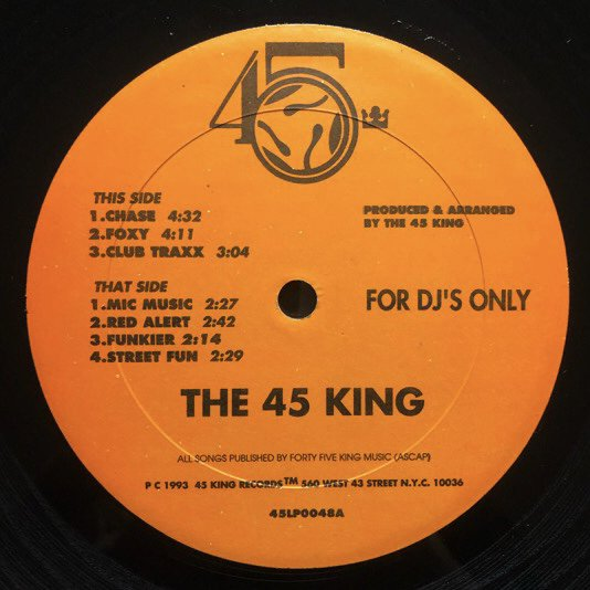 THE 45 KING / THE LOST CLUB TRAXS (VOLUME 1 & 2)