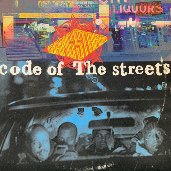 GANG STARR / CODE OF THE STREETS ( 93 US Original )