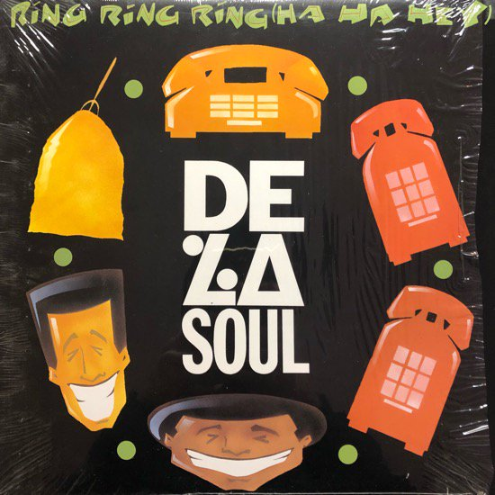 DE LA SOUL / RING RING RING (HA HA HEY) (91 US ORIGINAL )