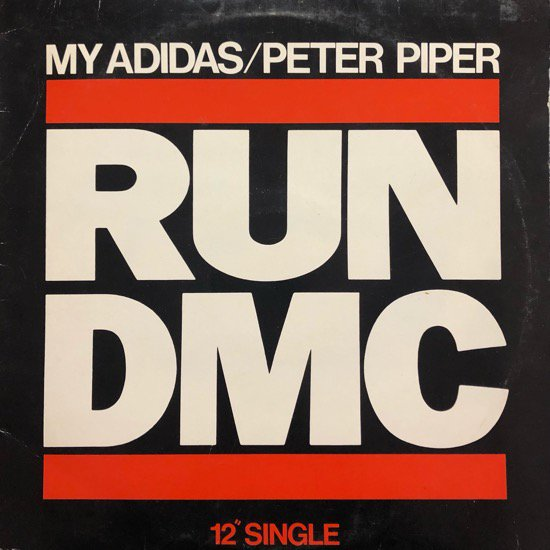 RUN-D.M.C. / MY ADIDAS b/w PETER PIPER ( 86 US ORIGINAL )