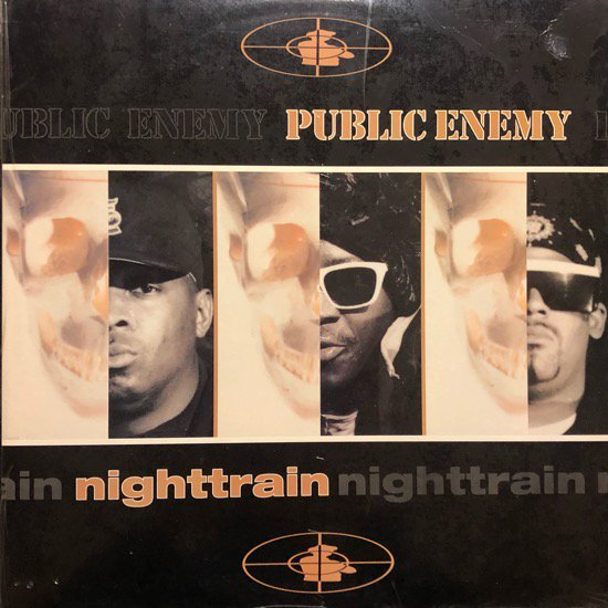 PUBLIC ENEMY / NIGHTTRAIN b/w MORE NEWS AT 11 ( 92 US Original )