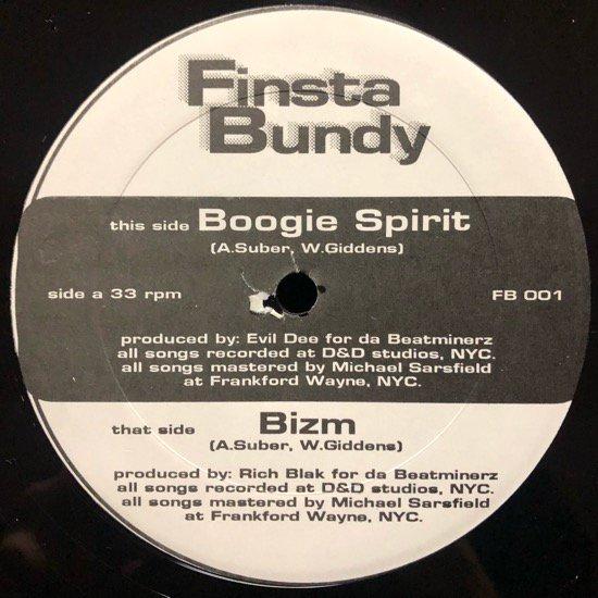 FINSTA BUNDY / BOOGIE SPIRIT / BIZM