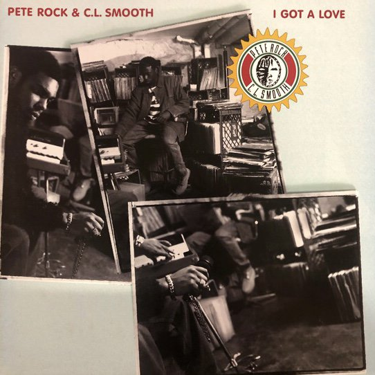 <img class='new_mark_img1' src='//img.shop-pro.jp/img/new/icons1.gif' style='border:none;display:inline;margin:0px;padding:0px;width:auto;' />PETE ROCK & C.L. SMOOTH / I GOT A LOVE (94 US ORIGINAL PRESSING)