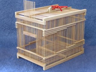 竹製虫篭(大)虫かご