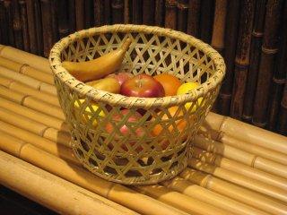 篠竹椀篭 ごかご 鉢カバー