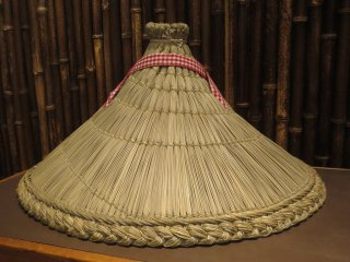 ぼっち笠(ボッチ笠)利根川伝統