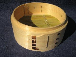 天然桧の中華セイロ(身のみ)18cm