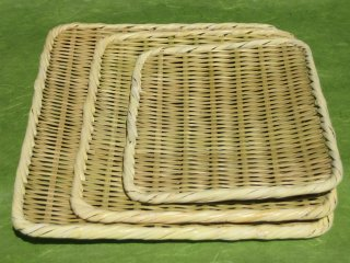 盆ざる 角(1尺2寸)36cm×30cm