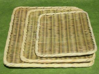盆ざる 角(9寸)27cm×20cm