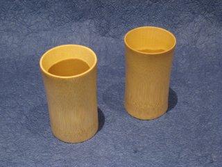竹製ビアグラス(ペアセット)