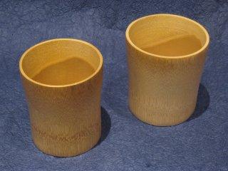 竹製焼酎グラス(ペアセット)