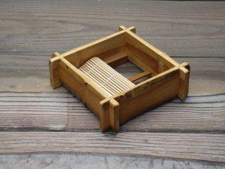 竹製そばセイロ(スス一口深)