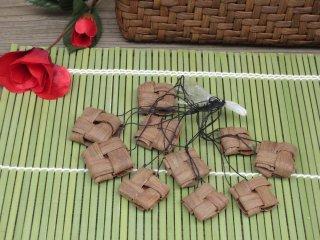 山ぶどうストラップ 石畳(10個セット)山葡萄【特価】