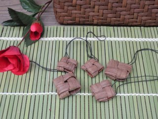 山ぶどうストラップ 石畳(5個セット)山葡萄【特価】
