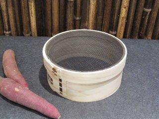 天然桧の裏ごし(馬毛)7寸 21cm 漉し器