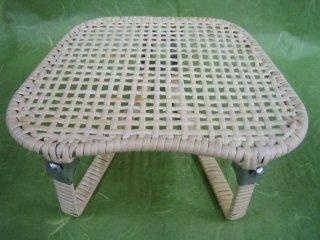 籐正座椅子(折りたたみ)