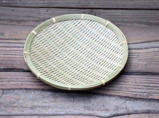 極上蕎麦ざる(小)7寸強 22cm 青ざる