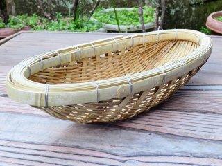 竹製ふりざる(さくり)名古屋式(小判)