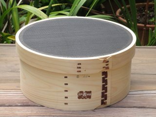 天然桧の裏ごし(PP)1尺 30cm 漉し器