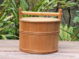 水張桶(蓋付)茶道具【大特価】現品限り