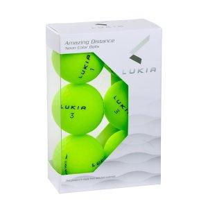 LUKIA(ルキア)ゴルフボール NEON COLOR 6P 超反発(YELLOW)