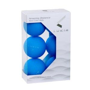 LUKIA(ルキア)ゴルフボール NEON COLOR 6P 超反発(BLUE)