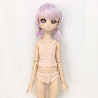 キャミソール&ショーツ/ピンク×星柄(MDD-S,M胸対応)3,800円