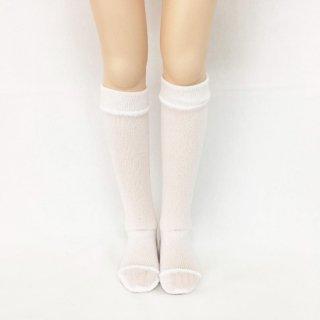MDD・ハイソックス/白 ,ピンク,水色(各900円)