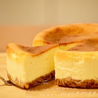 HONEY GRAHAM CHEESE CAKE 18cm